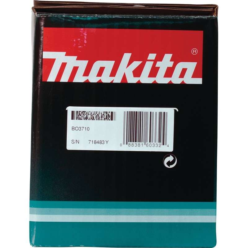 Makita  1.7  120 volts 1/3 Sheet  Corded  3-5/8 in. L x 7-1/4 in. W 11000 rpm Finishing Sander