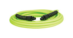 Flexzilla  Pro  25 ft. L x 1/4 in. Dia. Hybrid Polymer  Air Hose  300 psi Zilla Green
