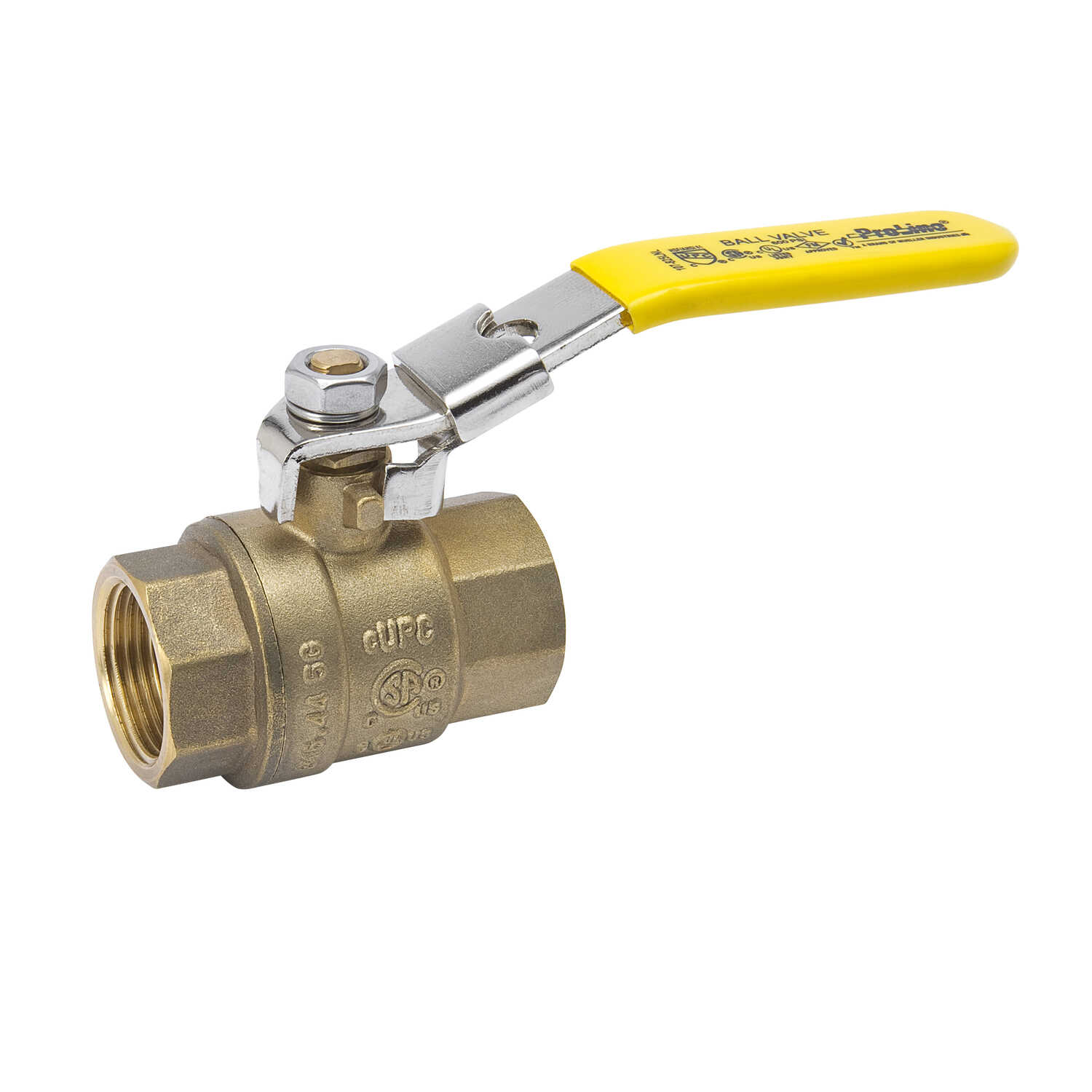 B & K  ProLine  Brass  Ball Valve