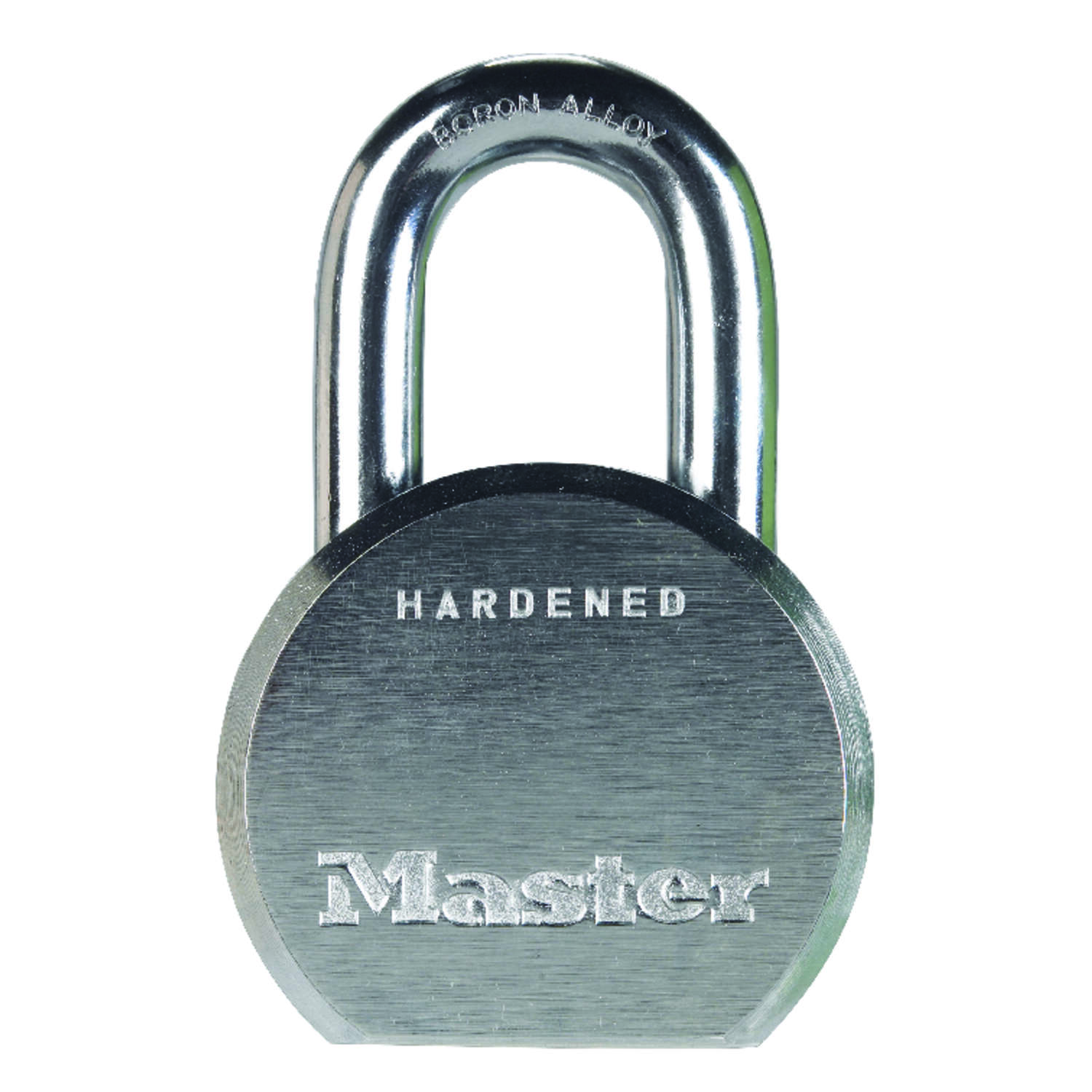 Master Lock  2-5/32 in. H x 2-1/2 in. W x 1-3/32 in. L Steel  5-Pin Cylinder  Re-Keyable Padlock  1