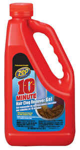 Zep  10 Minute Hair Clog Remover  Gel  Drain Cleaner  64 oz.