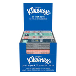 Kleenex  Pocket Pack  10 count Facial Tissue