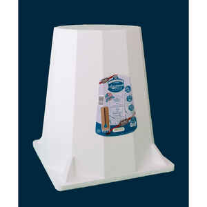 GARDIEN  20 in. H x 18 in. W x 18 in. D White  Foam  Plant Support