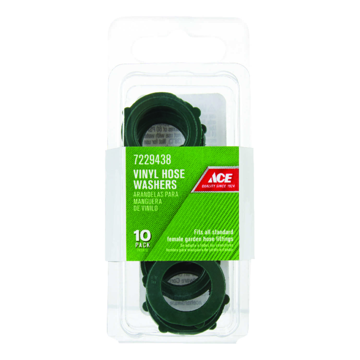 Ace  3/4 in. Vinyl  Non-Threaded  Female  Hose Washer