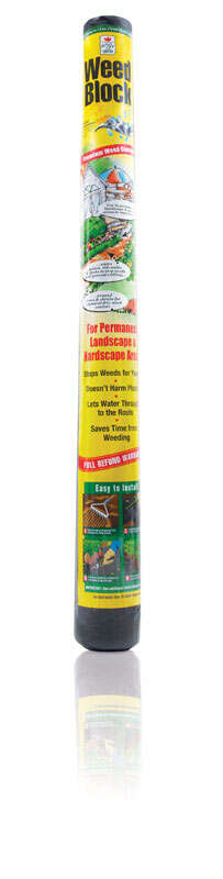 Easy Gardener  Weed Block  3 ft. W x 50 ft. L Landscape Fabric