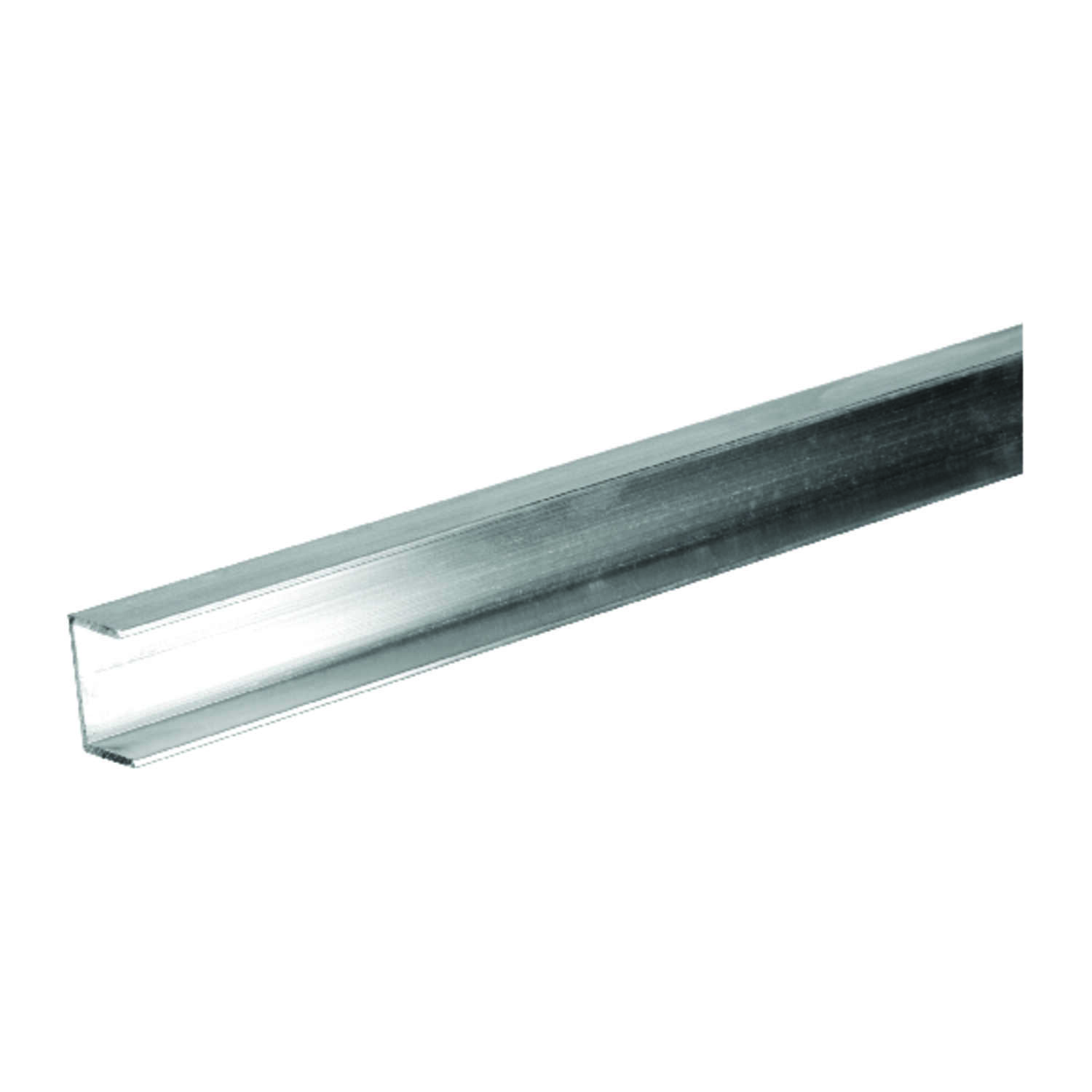 Boltmaster  0.5 in. H x 0.5 in. H x 3/8 in. W x 96 in. L Aluminum  Trim Channel
