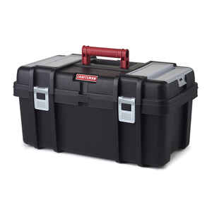 Craftsman  22 in. Poly Resin  Toolbox  7 in. W x 11.2 in. H Black