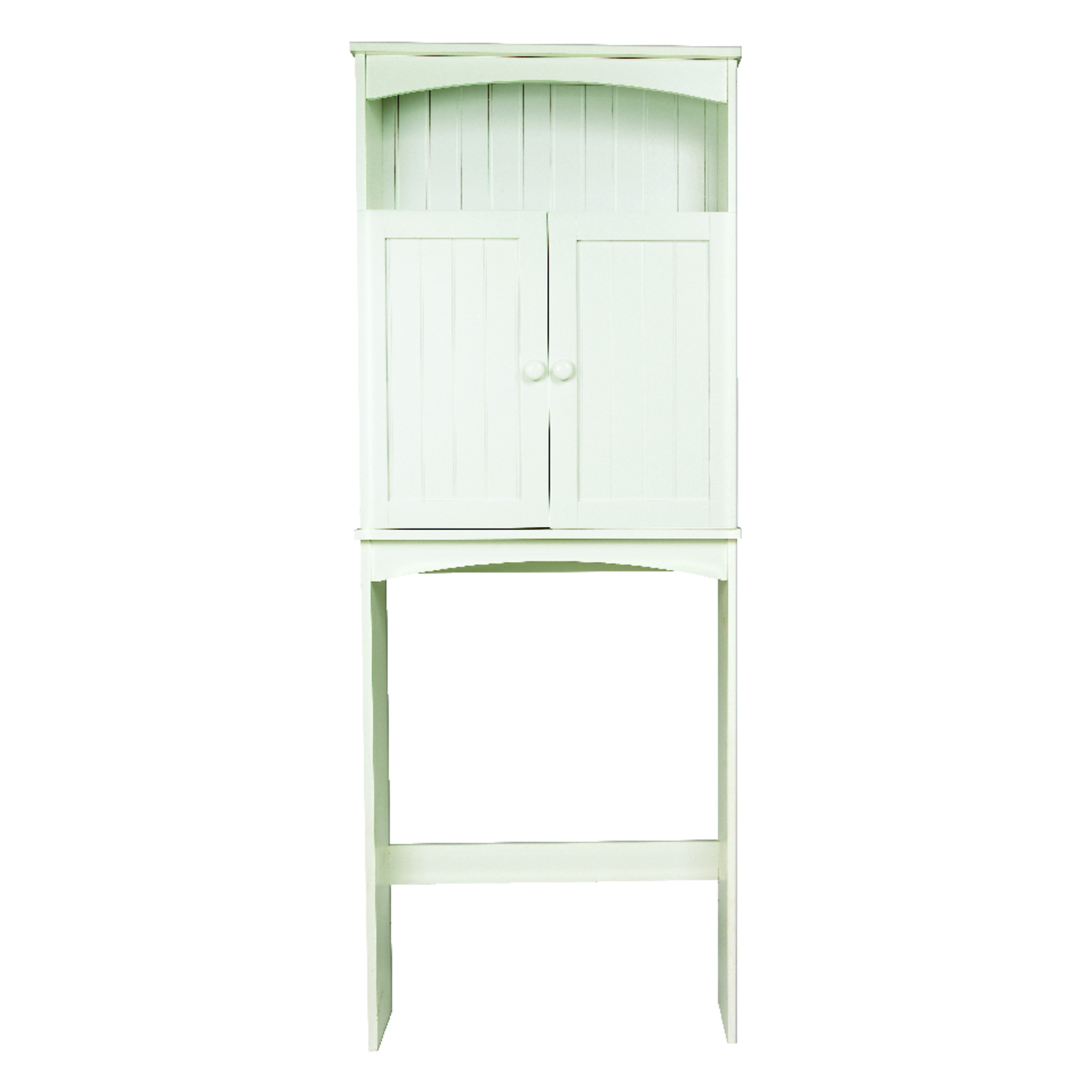 Zenith  Cottage Collection  Bathroom Spacesaver  64.8 in. H x 24.6 in. W x 8.6 in. L White  Wood