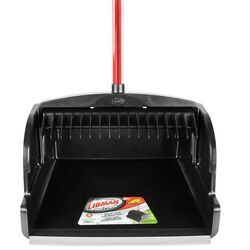 Libman  High Power  Plastic  Upright Large Scoop  Dust Pan