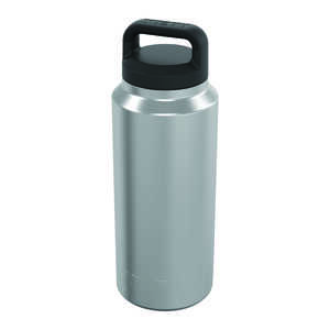 YETI  Rambler  Silver  Stainless Steel  Insulated Bottle  BPA Free 36 oz.