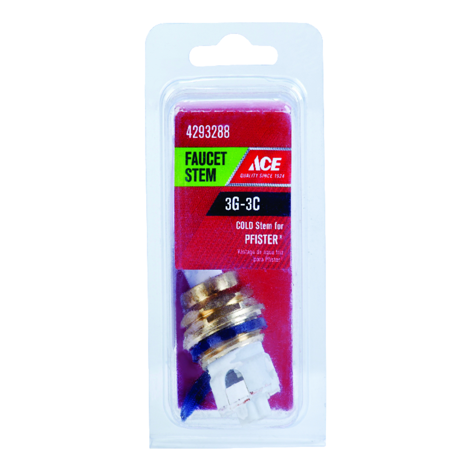 Ace Cold 3G-3C Faucet Stem For Pfister - Ace Hardware