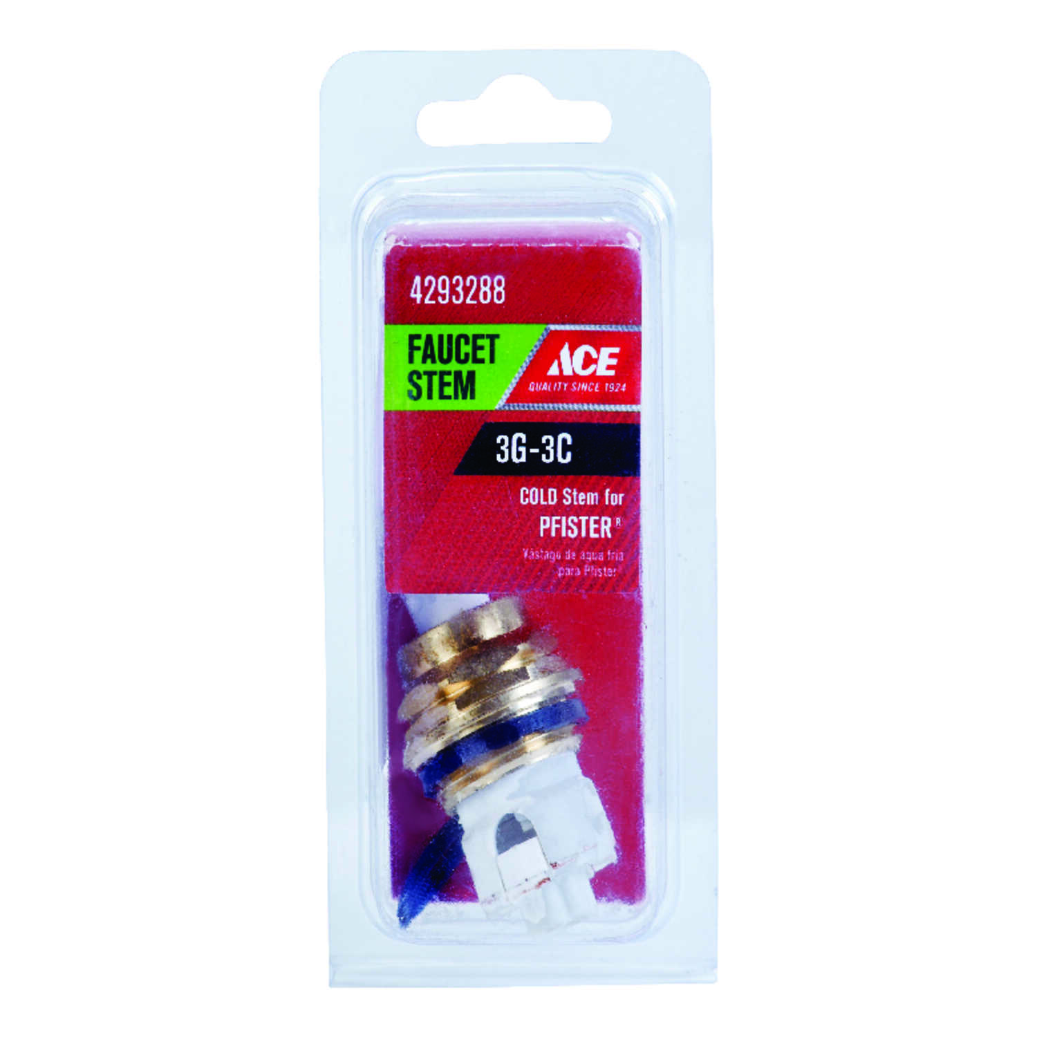 Ace  Cold  3G-3C  Faucet Stem  For Price Pfister