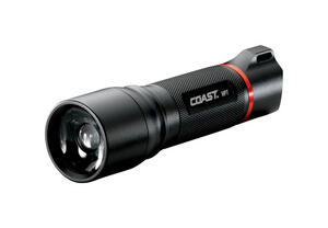 Coast  HP7  410 lumens Black  LED  Flashlight  AAA Battery