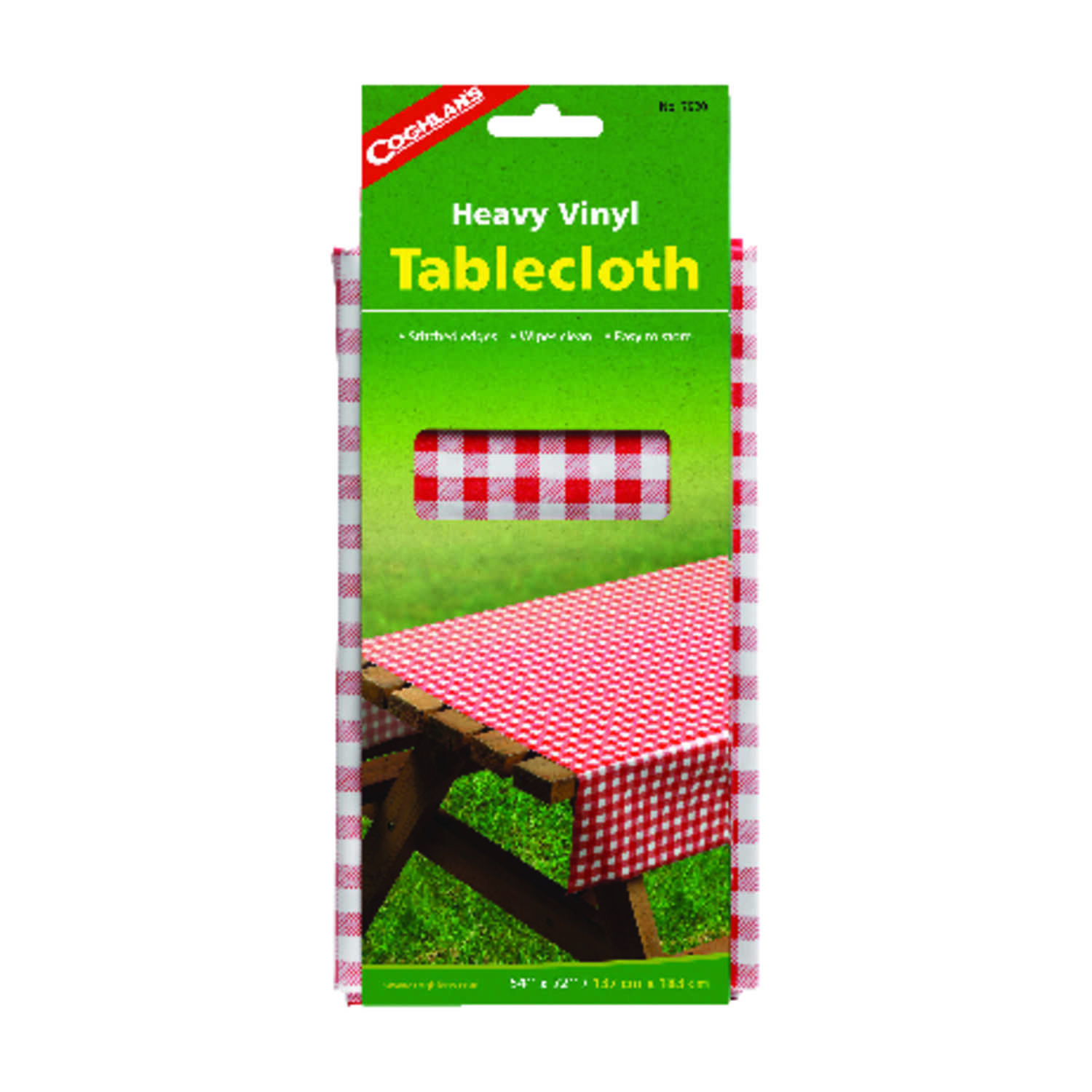 Coghlan's  Red  Tablecloth  10.000 in. H x 72 in. W x 54 in. L 1 pk
