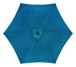 Living Accents  9  Tiltable Ocean Blue  Market  Umbrella