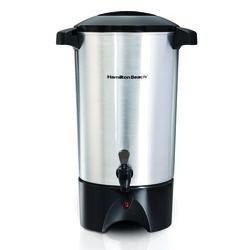 Hamilton Beach 45 cup Black/Silver Coffee Urn