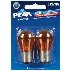 Peak  Incandescent  Parking/Stop/Tail/Turn  Miniature Automotive Bulb  1157NA