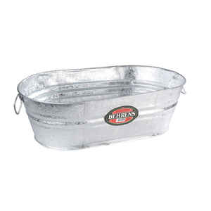Behrens  5.5 gal. Steel  Tub  Oval