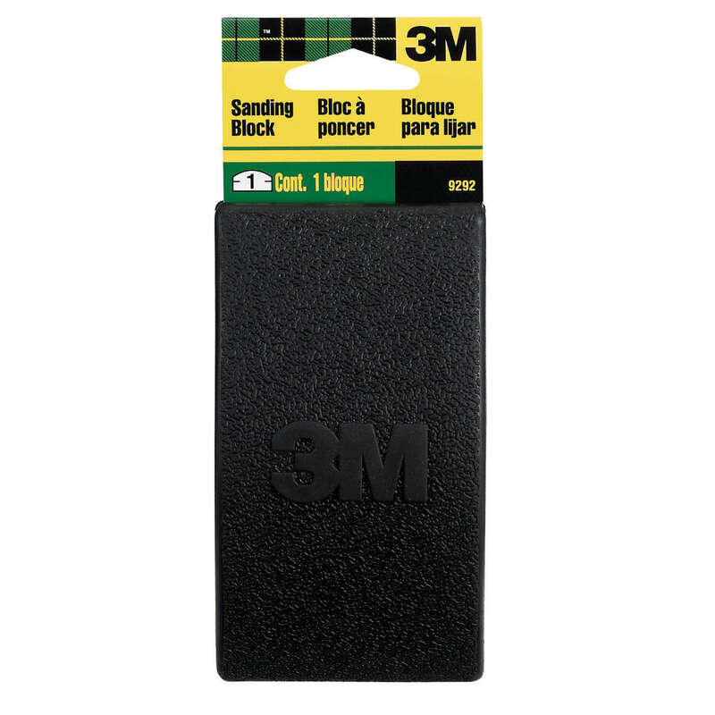 3M  2-3/4 in. W x 5 in. L Assorted Grit Sanding Block  Assorted
