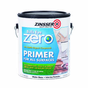 Zinsser  Bulls Eye Zero  Smooth  White  Primer  For All Surfaces 1 gal.