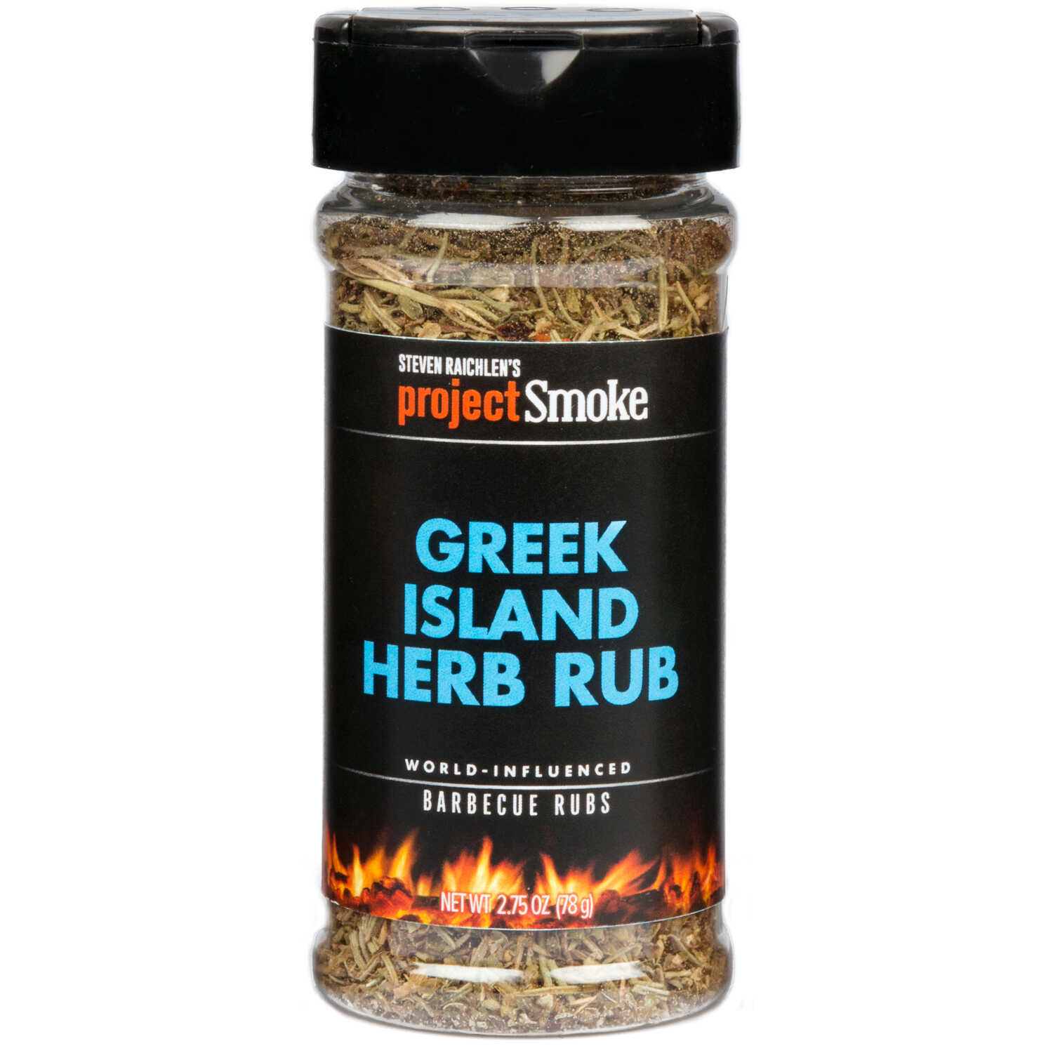 Steven Raichlen Project Smoke  Greek Island Herb  BBQ Rub  2.75 oz.