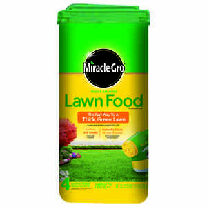 Miracle-Gro  36-0-6  Lawn Food  For All Grass Types