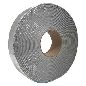 Frost King  2 in. W x 30 ft. L 2.0  Reflective  Fiberglass  Pipe Insulation Wrap  Roll  5 sq. ft.