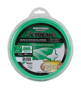 Arnold  Xtreme  Professional Grade  0.080 in. Dia. x 280 ft. L Trimmer Line
