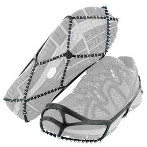 Yaktrax  WALK  Unisex  Traction Device  Poly Elastomer Blend/Steel  W 13-15/M 11.5-13.5  Waterproof