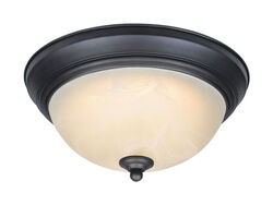Westinghouse  LED  5.5 in. H x 11 in. W x 11 in. L Oil Rubbed Bronze  Ceiling Light
