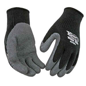 Kinco  Warm Grip  L  Latex Coated  Thermal  Black  Dipped Gloves
