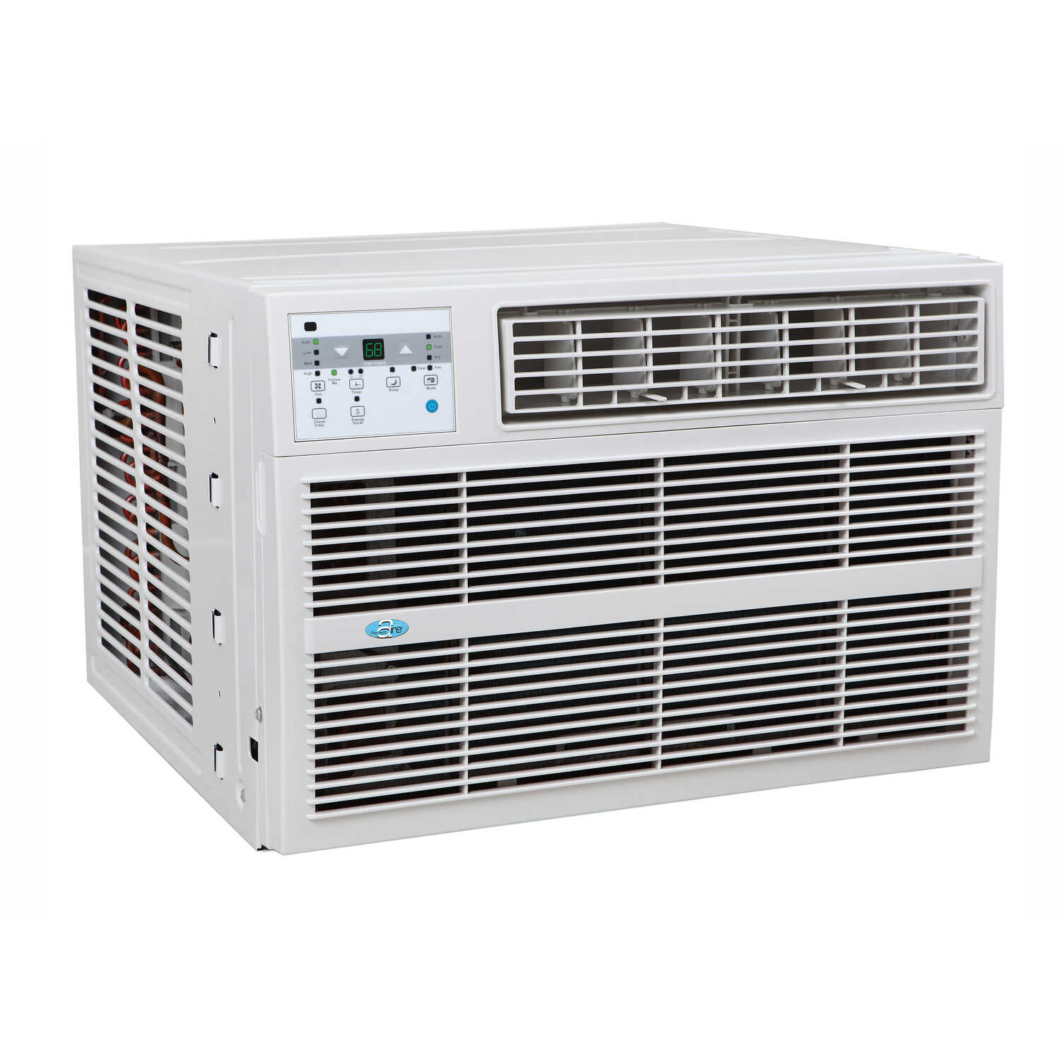 Perfect Aire  8000 BTU 16-1/4 in. H x 22-3/4 in. W 350 sq. ft. Window Air Conditioner w/Heat