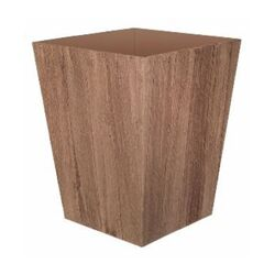 Suncast  Farmington  18 in. H x 16 in. W x 16 in. D Resin  Planter  Brown
