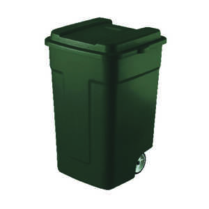 Rubbermaid  Roughneck  50 gal. Plastic  Garbage Can