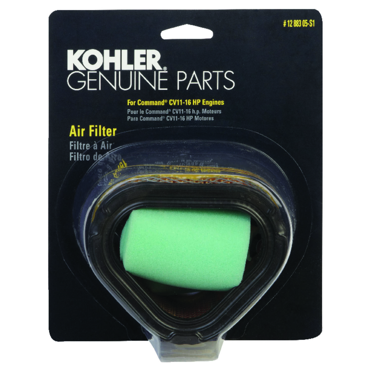 Kohler  Small Engine Air Filter  For CV11-16