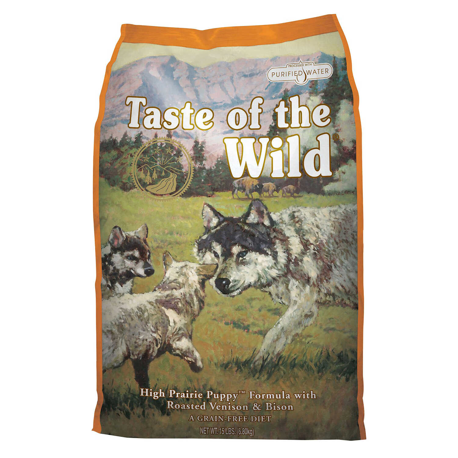 Taste of the Wild  High Prairie  Bison and Venison  Dry  Dog  Food  Grain Free 30 lb.