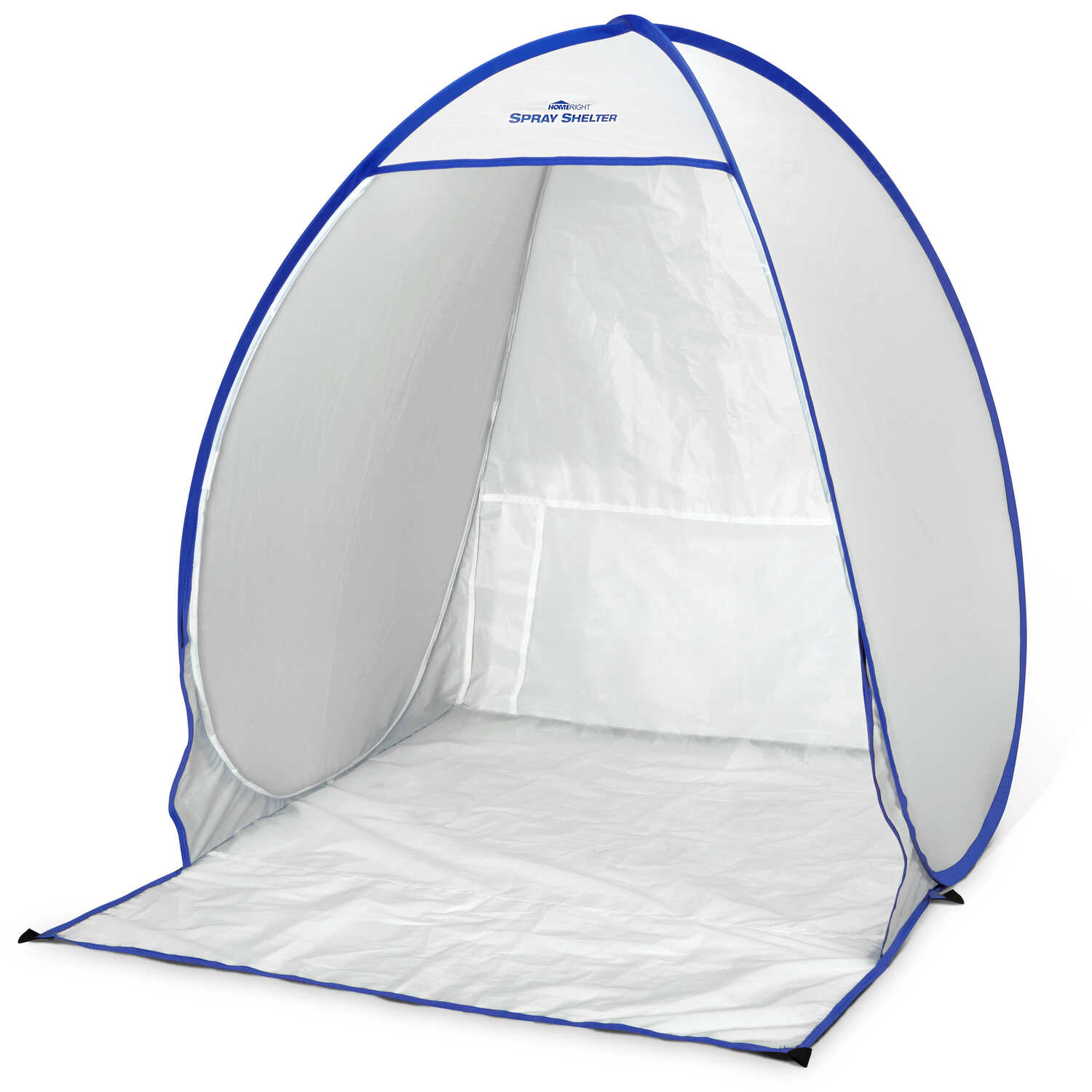 HomeRight  Medium Weight  Polyester PE  Spray Paint Shelter  2.91 ft. W x 2.5 ft. L