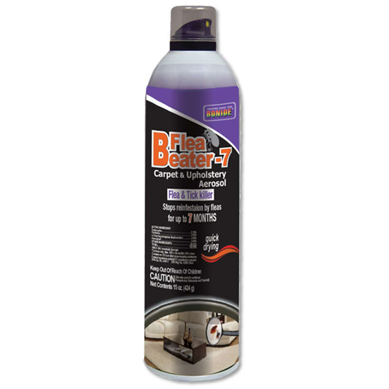 Bonide  Flea Beater-7  Aerosol  Carpet and Upholstery Insecticide  15 oz.