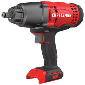 Craftsman  20V MAX  1/2 in. Square  Cordless  Impact Wrench  20 volts 2500 ipm 330 ft./lbs.