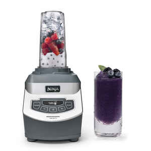 Ninja  Professional  Black/Silver  Metal/Plastic  Blender  72 oz. 3 speed