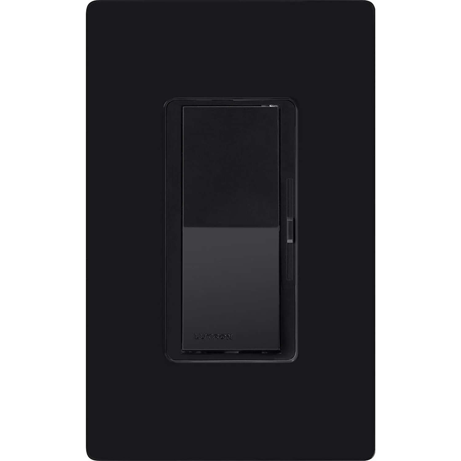 Lutron  Diva  Black  600 watt 3-Way  Dimmer Switch  1 pk