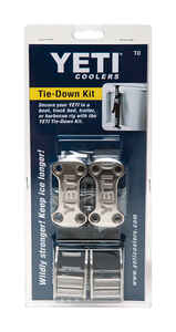 YETI  Tie-Down Kit  1 each Black