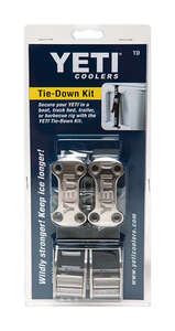 YETI  Tie-Down Kit  Black  1 each