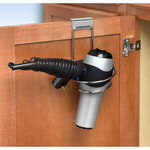 Spectrum  MyBella  7.25 in. H x 4.75 in. W x 5.25 in. L Hair Dryer Holder