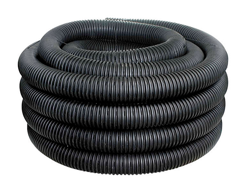 ADS  Plastic  Corrugated Drainage Tubing with Sock