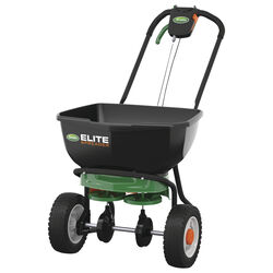 Scotts Elite 72 in. W Broadcast Spreader For Fertilizer 30 lb.