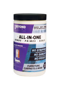 BEYOND PAINT  All-In-One  Bright White  Water-Based  Acrylic  1 qt. Paint  Matte