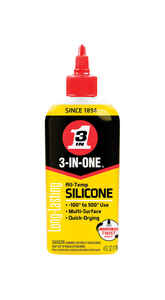 3-IN-ONE  General Purpose  Silicone Drip Oil  4 oz.