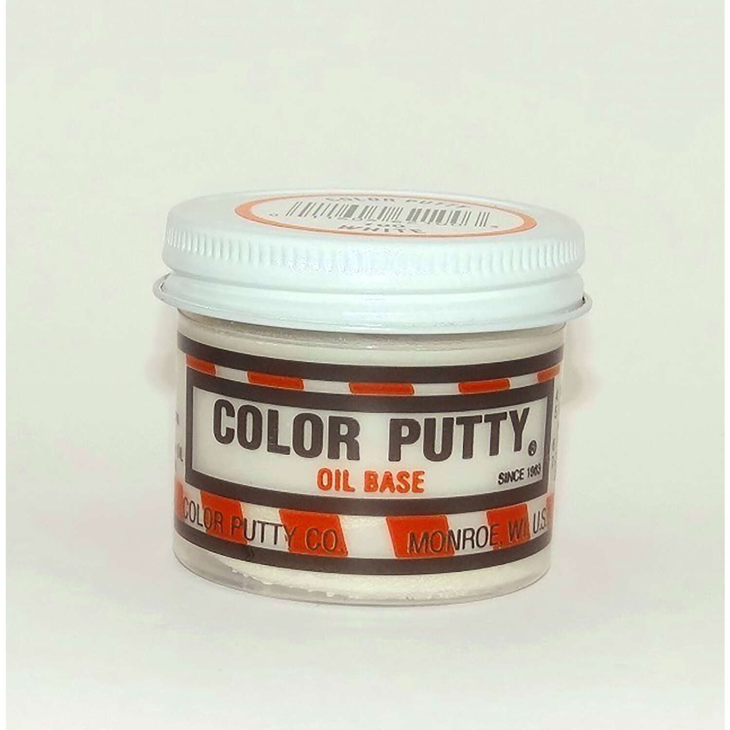 Color Putty  White  Wood Filler  16 oz.