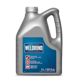 Weldbond  High Strength  Polyvinyl acetate homopolymer  All Purpose Adhesive  101 oz.